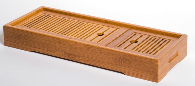 TRAVEL BAMBOO TEA BOAT