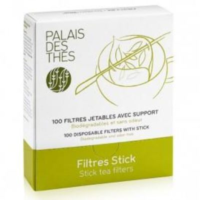 PACK OF 100 STICK TEA FILTERS